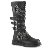 Vegan BOLT-450 demonia stiefel - unisex springerstiefel