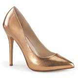 gold rose 13 cm AMUSE-20 Pleaser pumps mit stiletto absatz